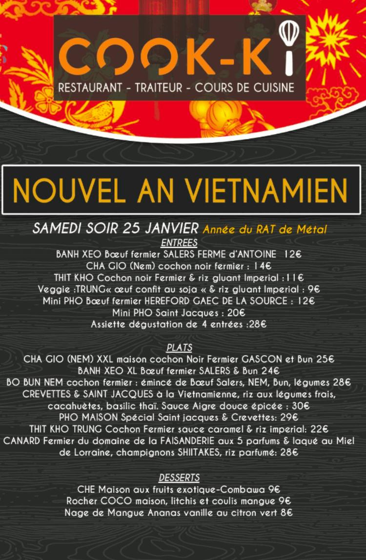 Cook-ki Nouvel An Vietnamien